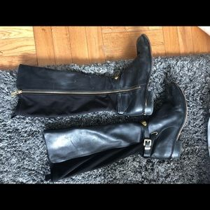 Michael Kors Leather High Boots (8)